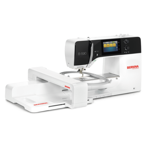 Bernina 590 with optional Embroidery module
