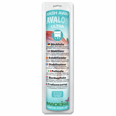 Madeira Stabilizer Wash-Away Avalon Ultra 30cm x 3m