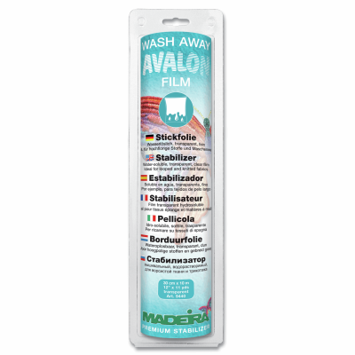 Madeira Stabilizer Wash-Away Avalon Film 30cm x 10m