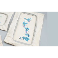 Brother F480E Large 30 x 13cm embroidery frame EF85 for Brother F-Series (12x5 inch)