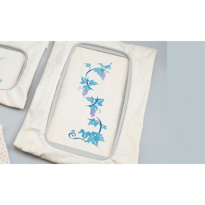 Brother F440E Large 30 x 13cm embroidery frame EF85 for Brother F-Series (12x5 inch)