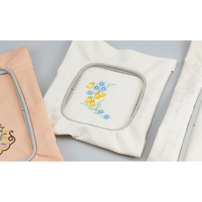 Brother F440E 10 x 10cm embroidery frame EF83 for Brother F-Series (4x4inch)