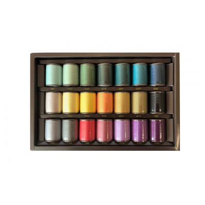 Brother Country Embroidery Thread 22 colours
