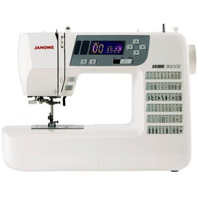 Janome 360DC Computerised Sewing Machine.