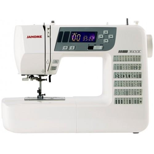 Janome 360DC Computerised Sewing Machine.