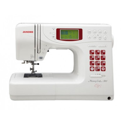Used Janome Memory Craft 5900QC