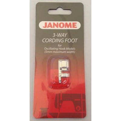 Janome 3-Way Cording Foot - Category A