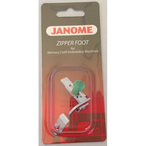 Janome Adjustable Zipper Foot/Piping - Category C