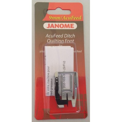 Janome AcuFeed Ditch Quilting Foot - Category D (with AcuFeed)