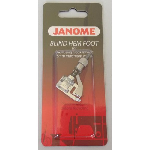 Janome Blind Stitch Foot (G) - Category A