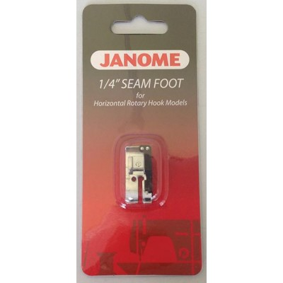 Janome 1/4 Inch Seam Foot - Category C & B