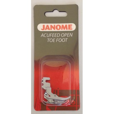 Janome AcuFeed Open Toe Foot - MC7700QCP & 6600P ONLY