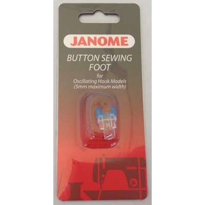 Janome Button Sewing Foot - Category A