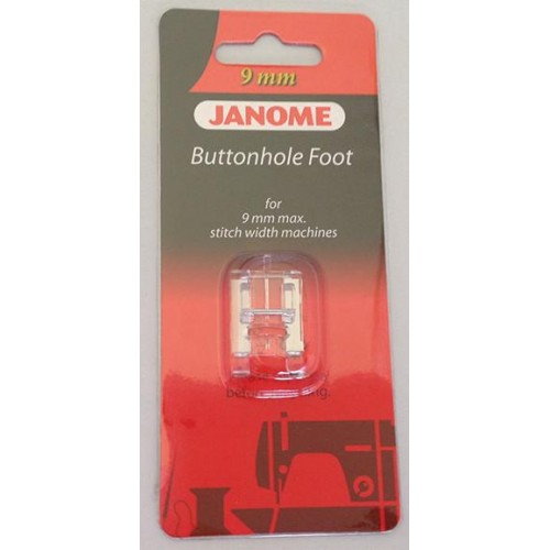 Janome Buttonhole Foot - Category D