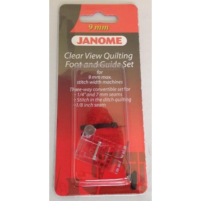 Janome Clear View Quilting Foot and Guide Set - Category D