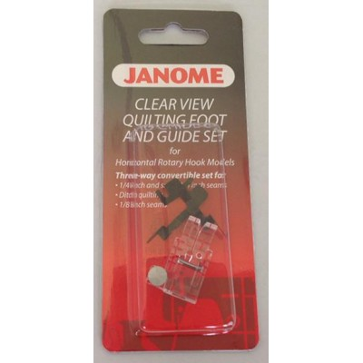 Janome Clear View Quilting Foot and Guide Set - Category B/C