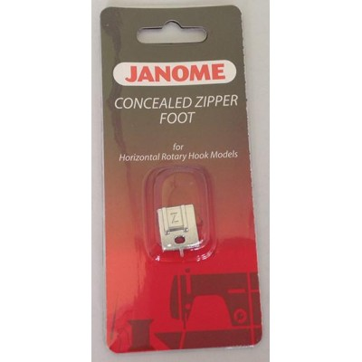 Janome Concealed Zipper Foot - Category B/C
