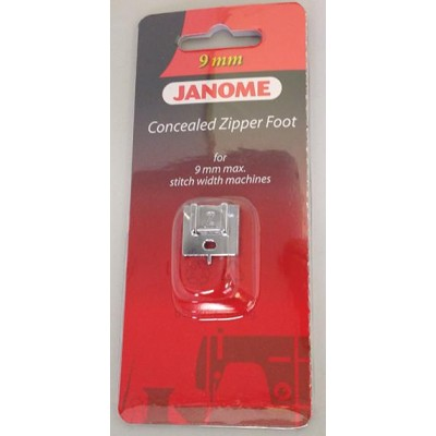 Janome Concealed Zipper Foot - Category D