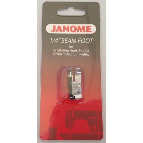 Janome 1/4 inch Seam Foot - Category A