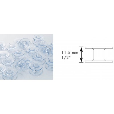 Brother Sewing Machine 11.5mm Bobbins SFB - 10pcs